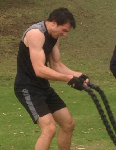 CRUSH Training Rope Pulling