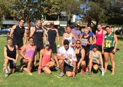Crush Conditioning Perth group training