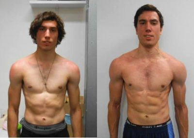 Jeremy 8 Week Transformation